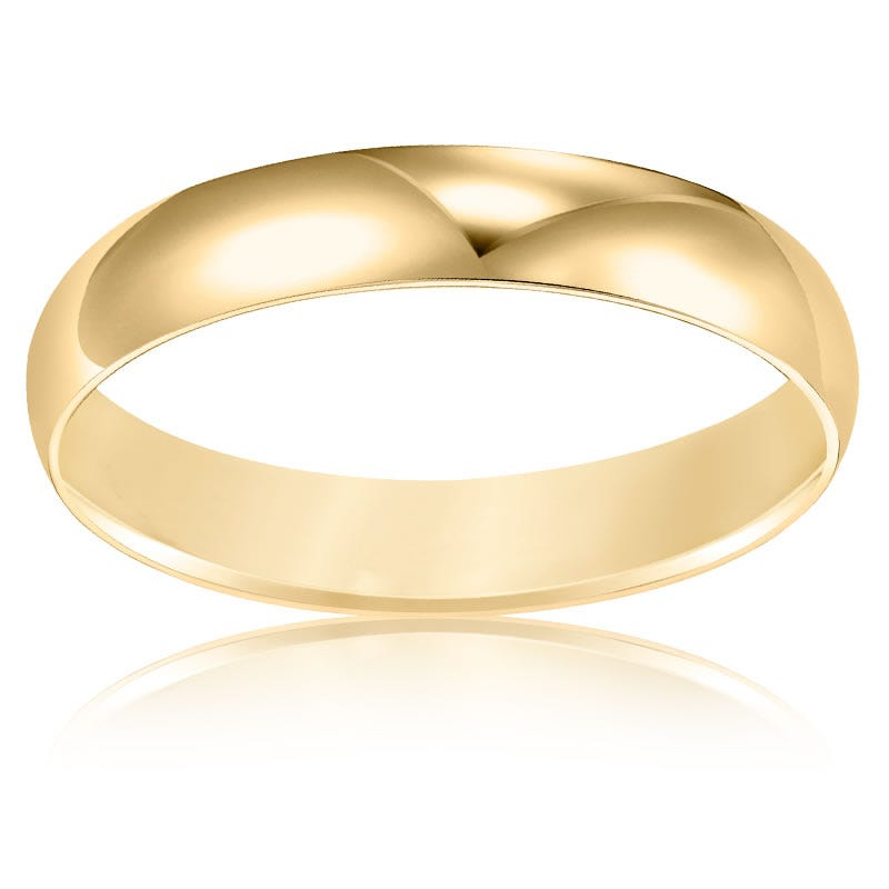 Ladies' Classic Wedding Band in 10k Yellow Gold