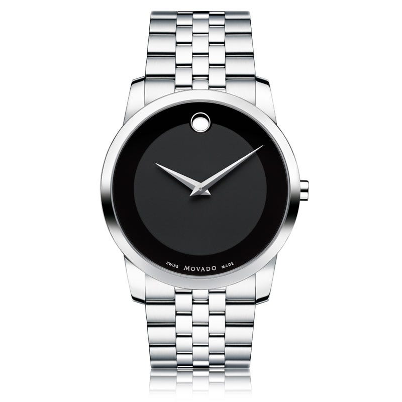 Movado Museum Classic® Black Men's Watch 606504