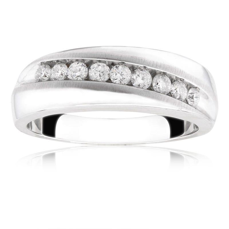 Men's Diamond Wedding Band ½ ct. T.W.