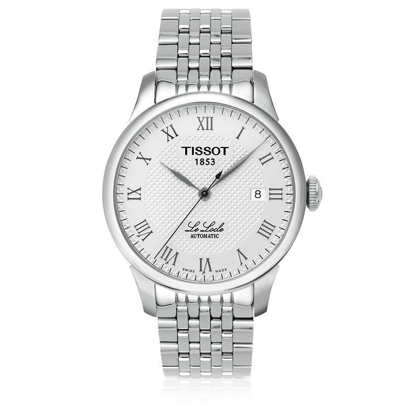 Tissot Le Locle Men's Silver Automatic Classic Watch T41148333