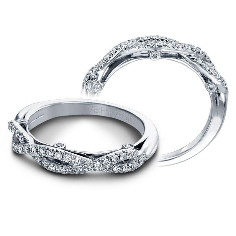 Verragio Insignia Diamond Wedding Band 7050W