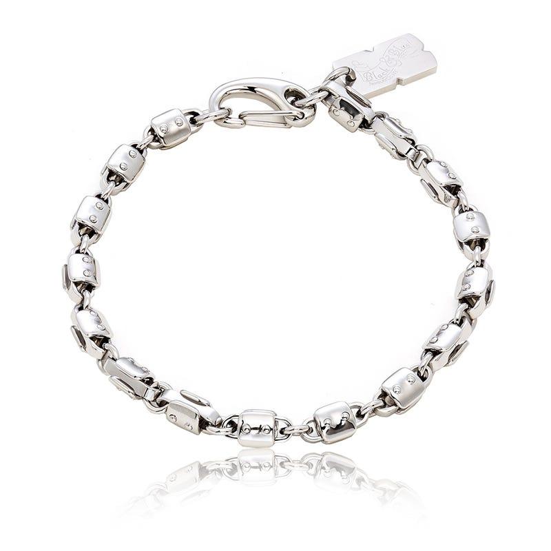 BLACK & BLUE GRAND ARMY Chain Link Bracelet 9
