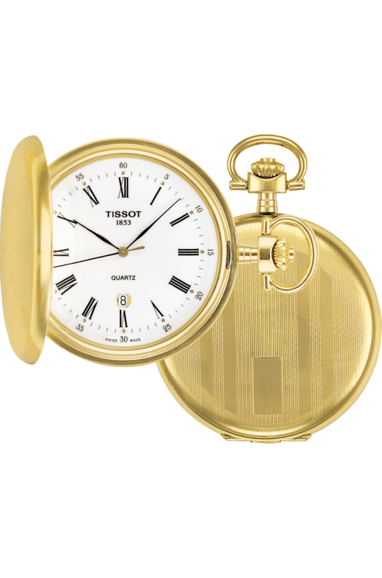Tissot Pocket Watch Savonnette Mechanical Hunter Pocket Watch T83455313
