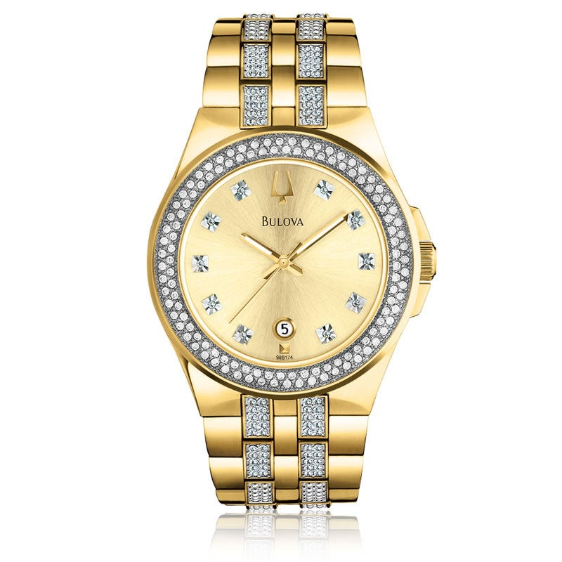 Men's & Ladies' Bulova Crystal