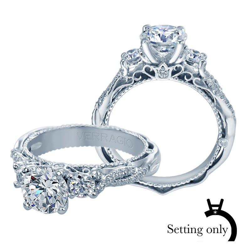 Verragio Venetian Diamond Engagement Ring Setting 5013R-4