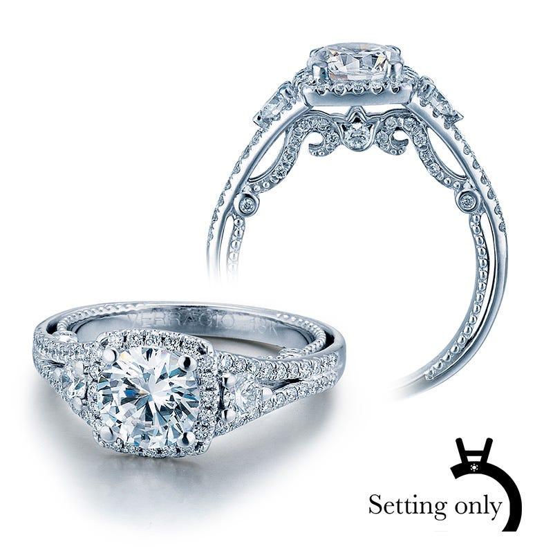 Insignia Verragio Diamond Engagement Ring Setting 7068CU