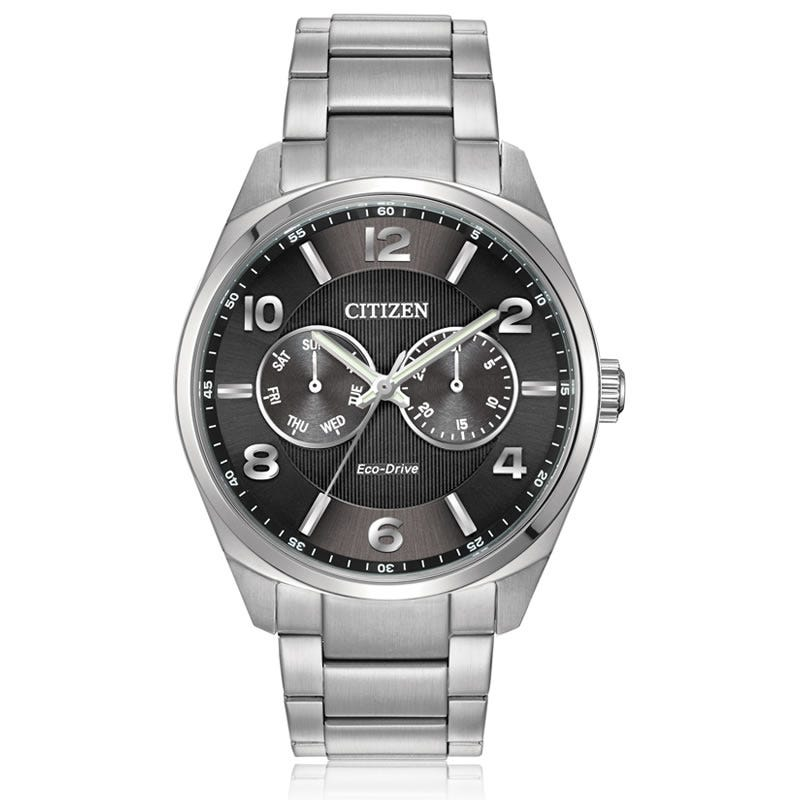 CITIZEN Eco-Drive Men's Dress Black