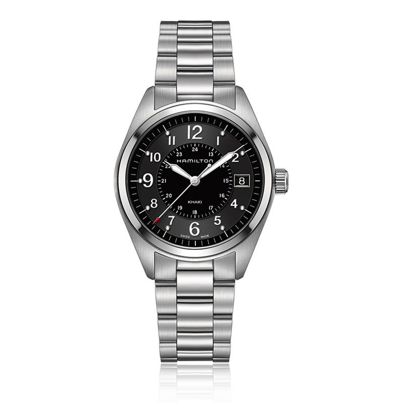 Hamilton Khaki Field Stainless Steel Watch H68551933