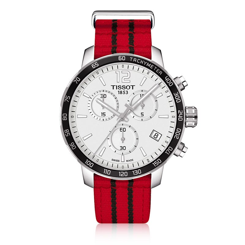 Tissot Chicago Bulls Quickster Quartz Watch T0954171703704