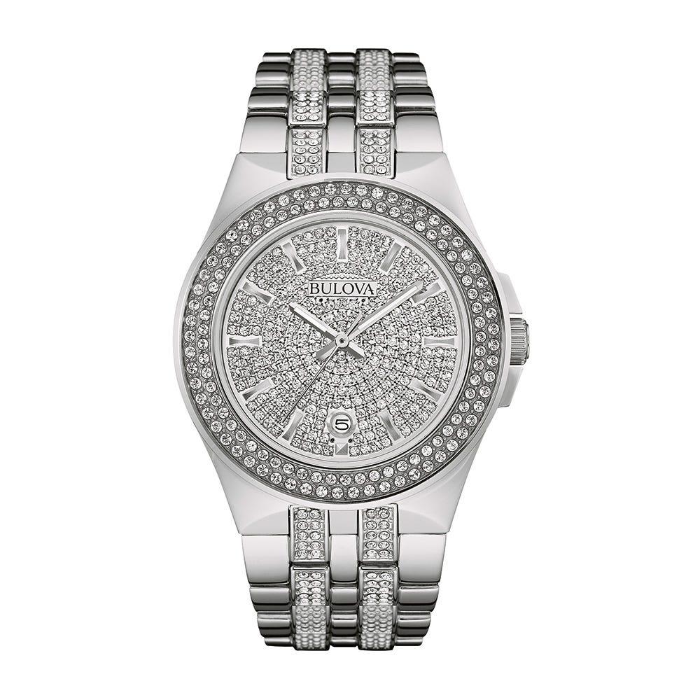 Bulova Men's Watch Crystals Collection 96B235