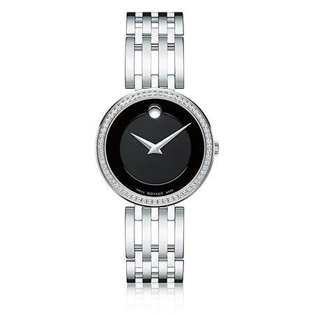 Movado Esperanza Diamond Bezel Bracelet Watch 0607052