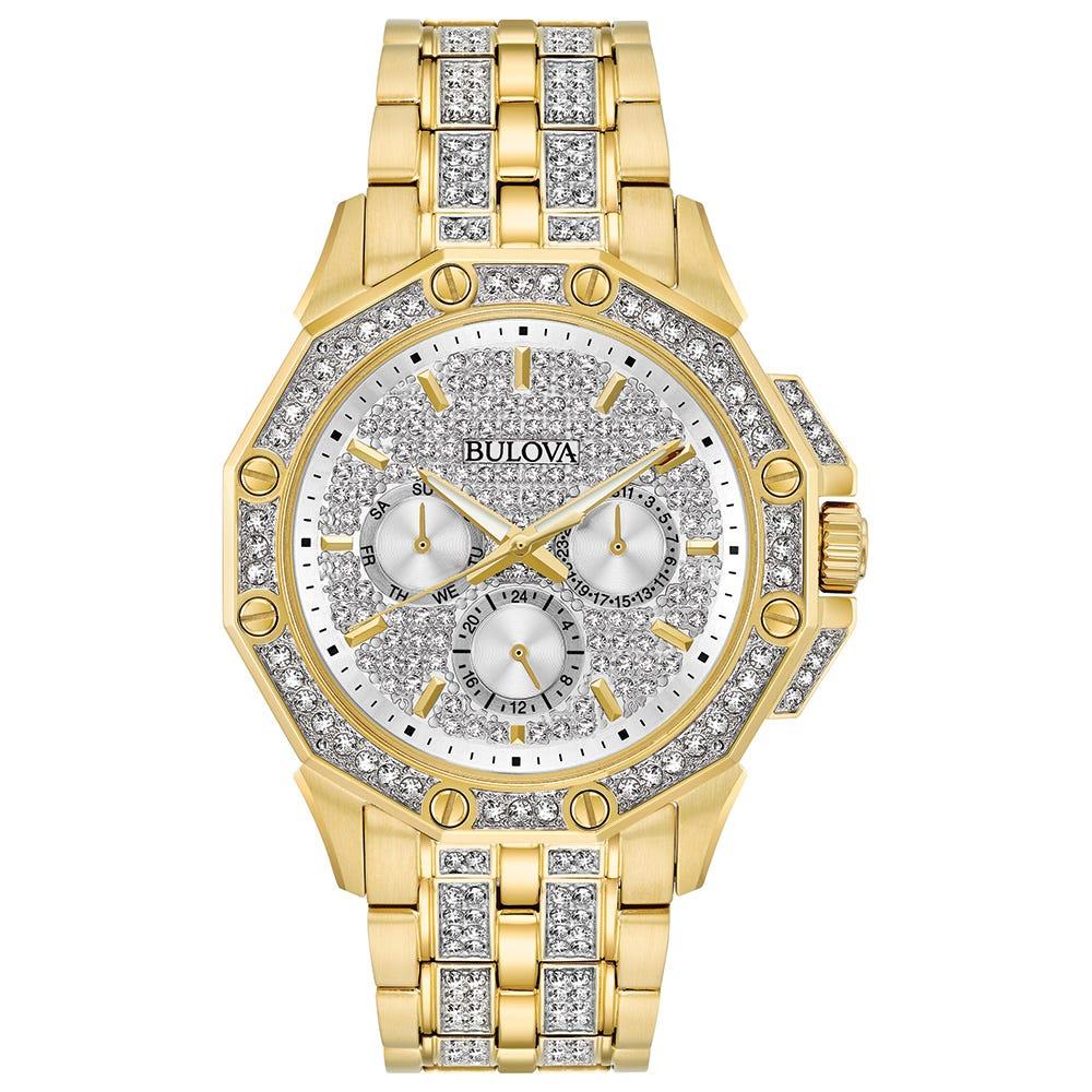 Bulova Men's Watch Crystals Collection 98C126