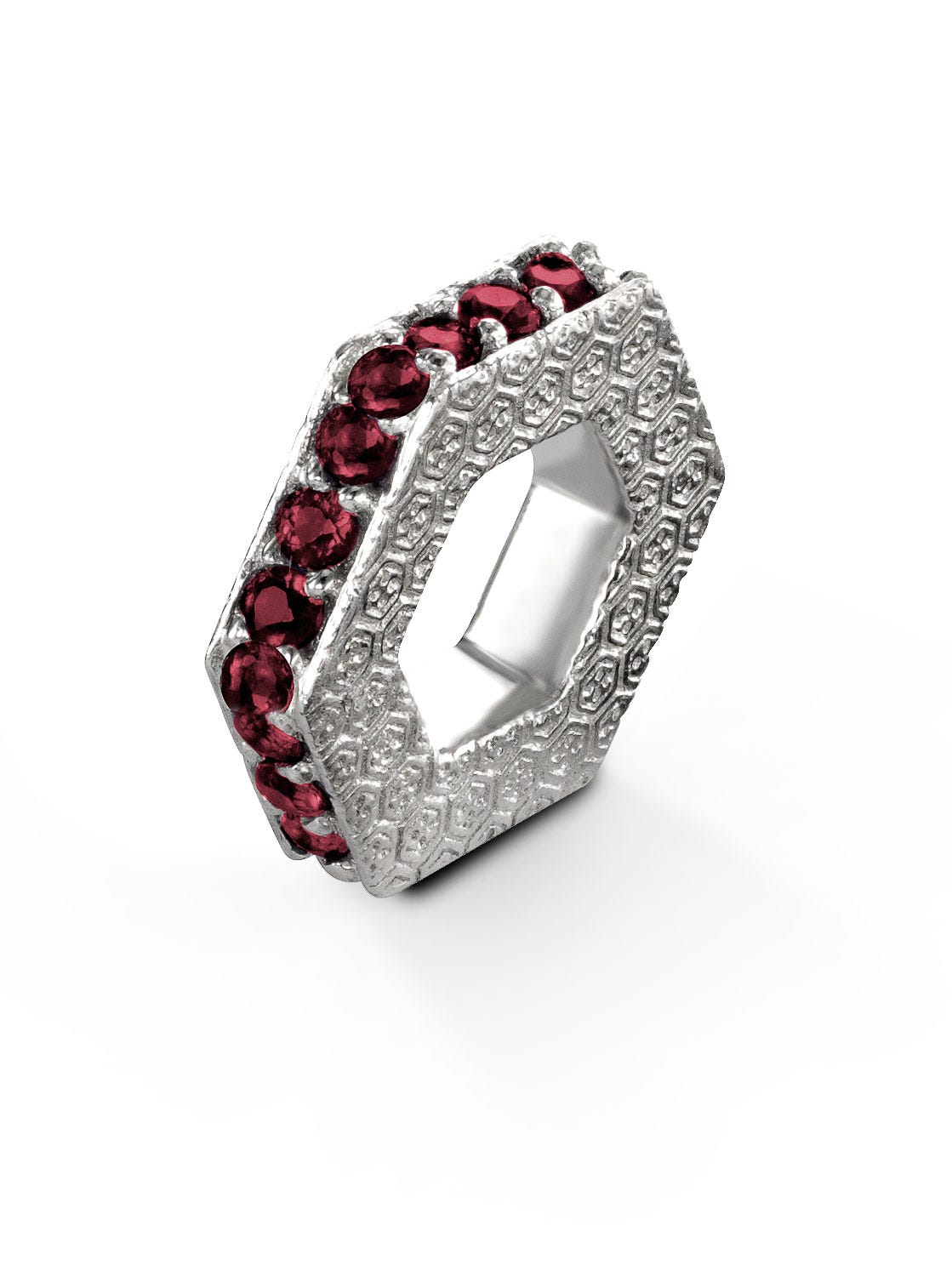 January Garnet Keepsake Slider