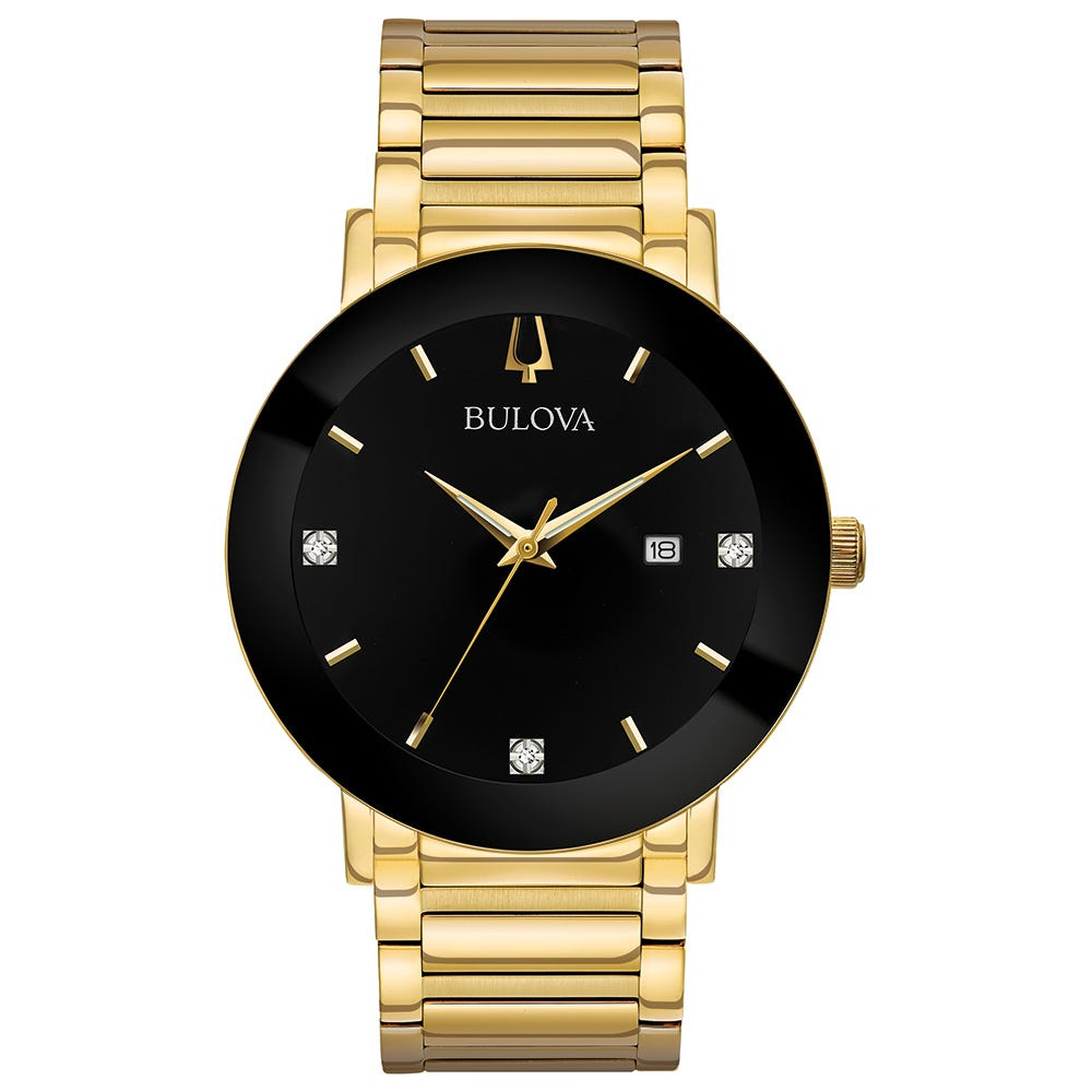 Bulova Men's Watch Diamonds Collection 97D116