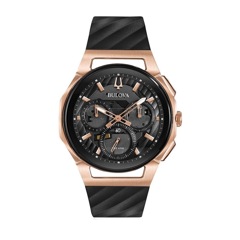 Bulova CURV Men's Chronograph Watch 98A185
