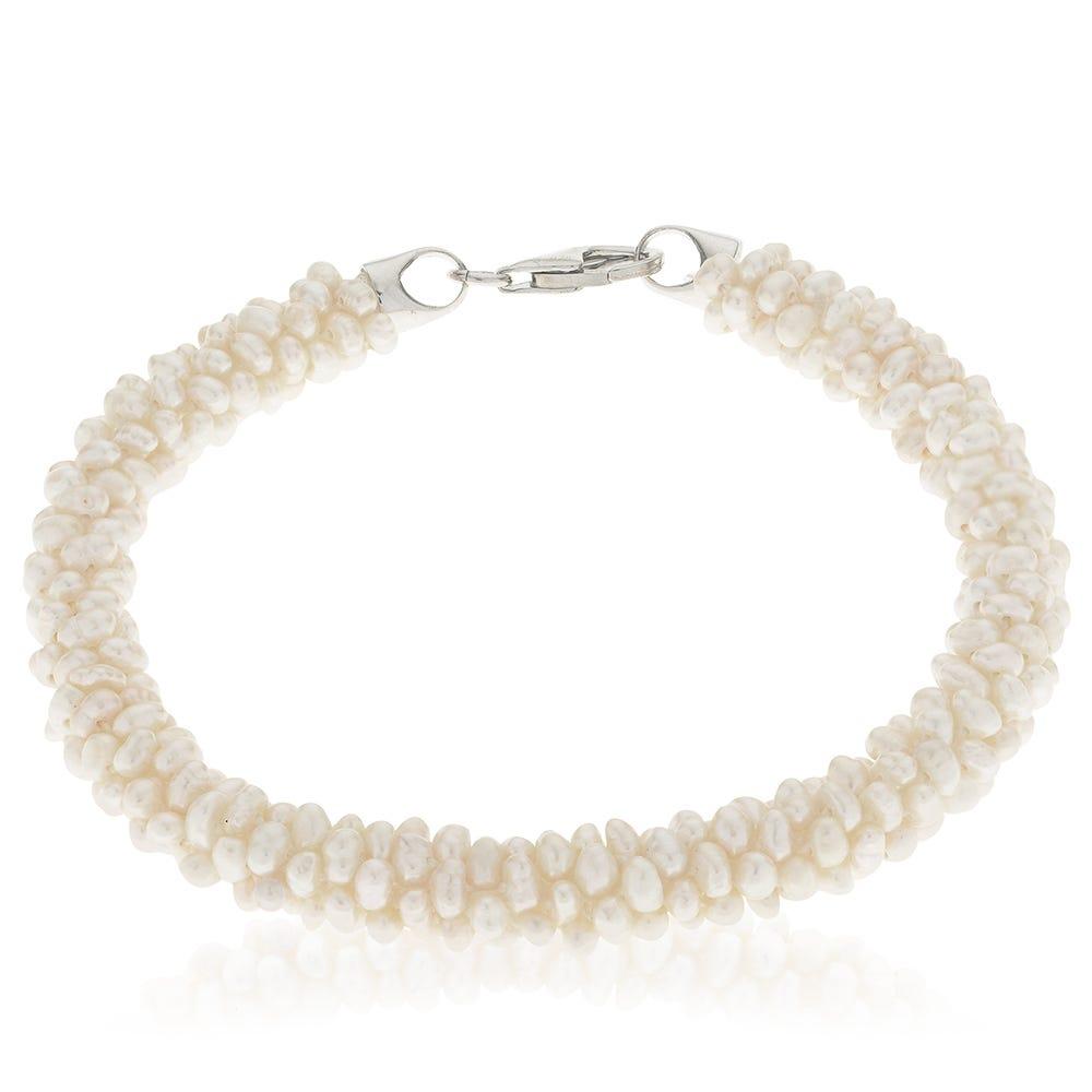 Freshwater Cluster Pearl Bracelet