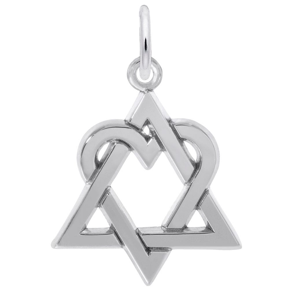 Adoption Logo Sterling Silver Charm