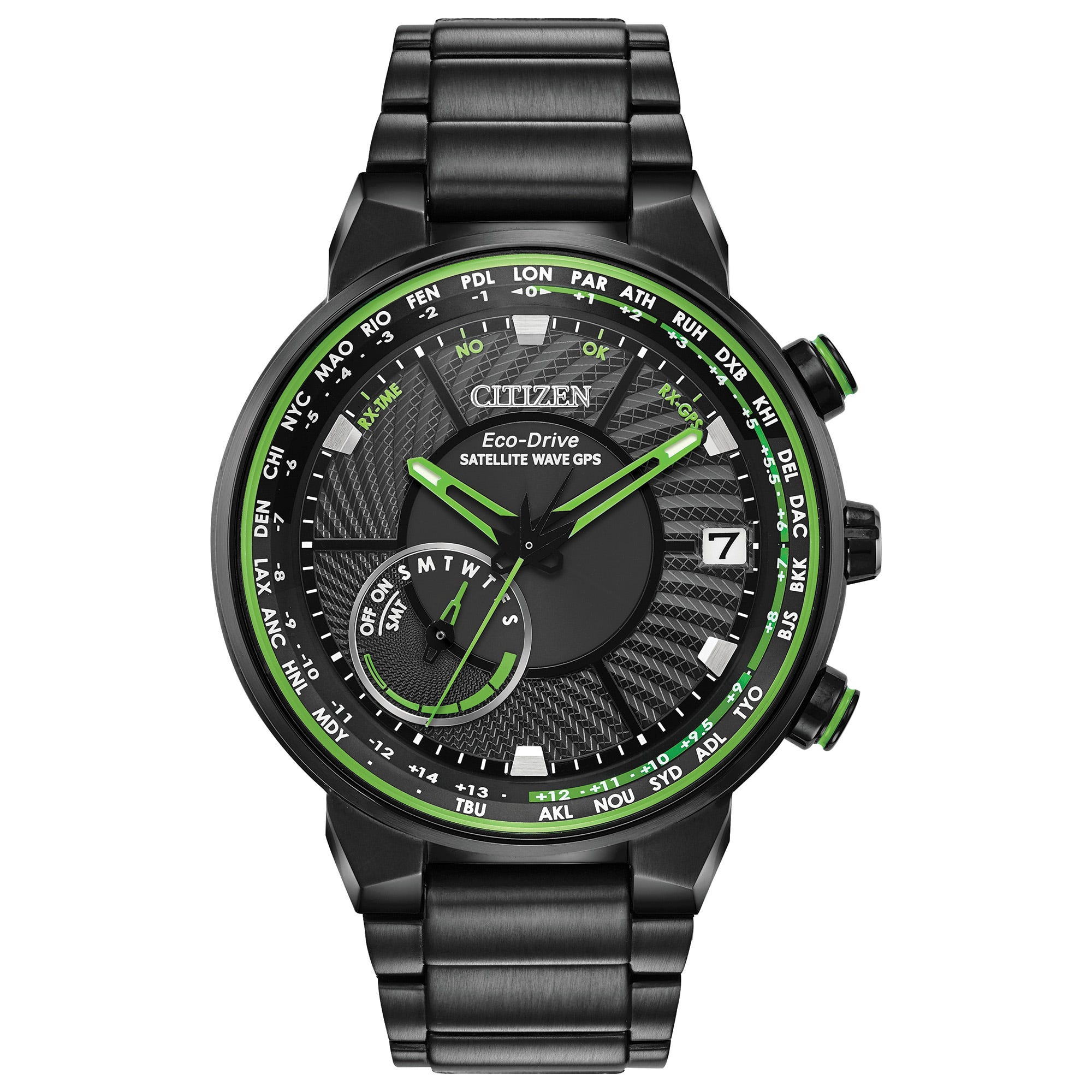 Citizen Men's Satellite Wave GPS Freedom Watch CC3035-50E