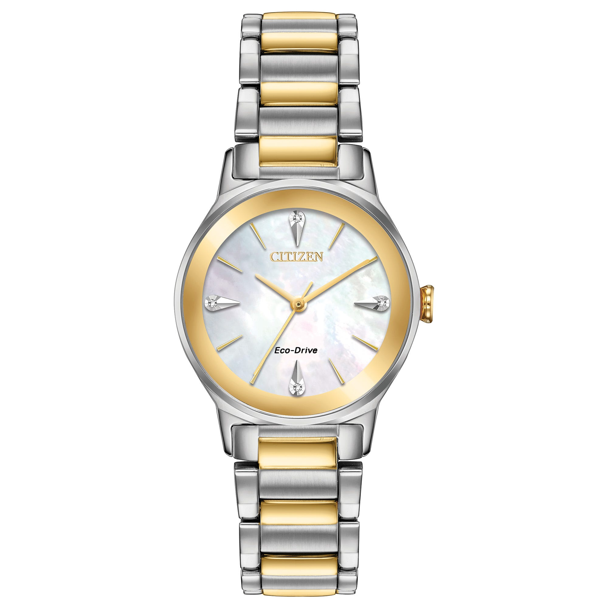 Citizen Ladies' Two-Tone Axiom Watch EM0734-56D