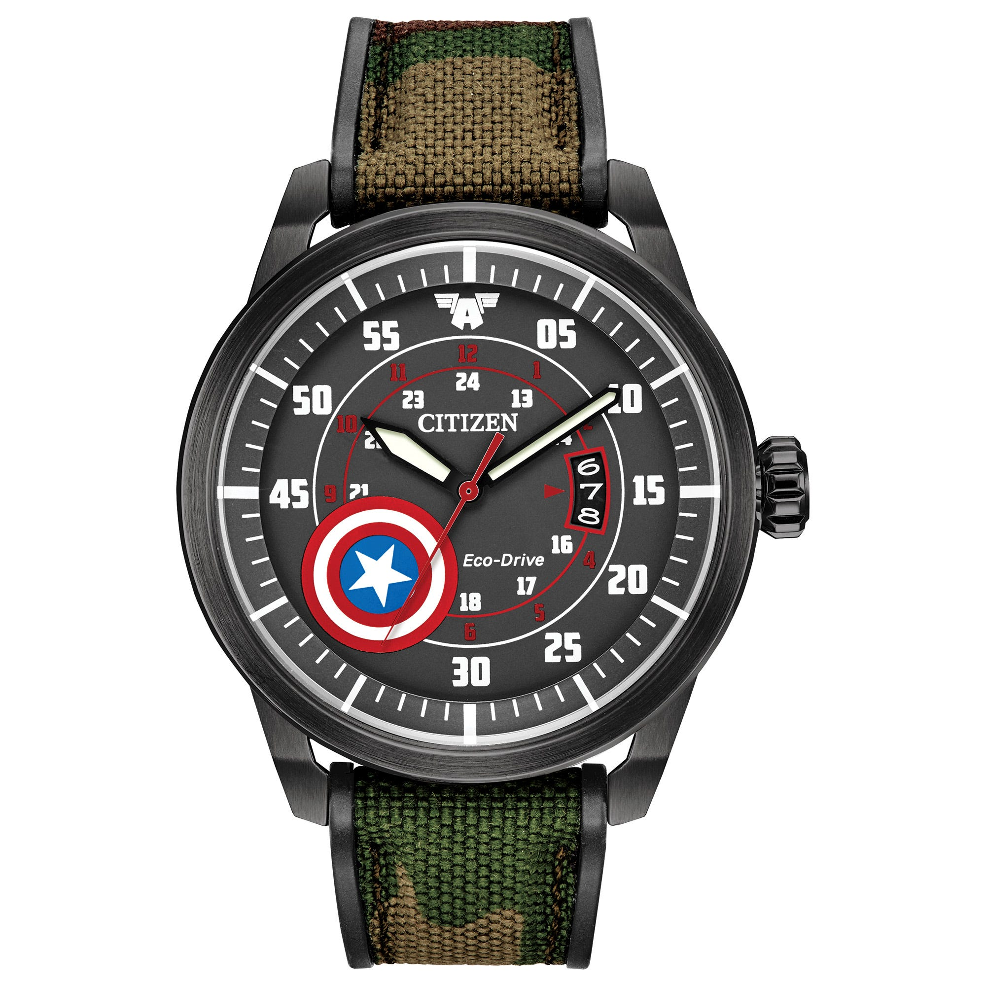 Citizen Captain America Marvel Watch AW1367-05W