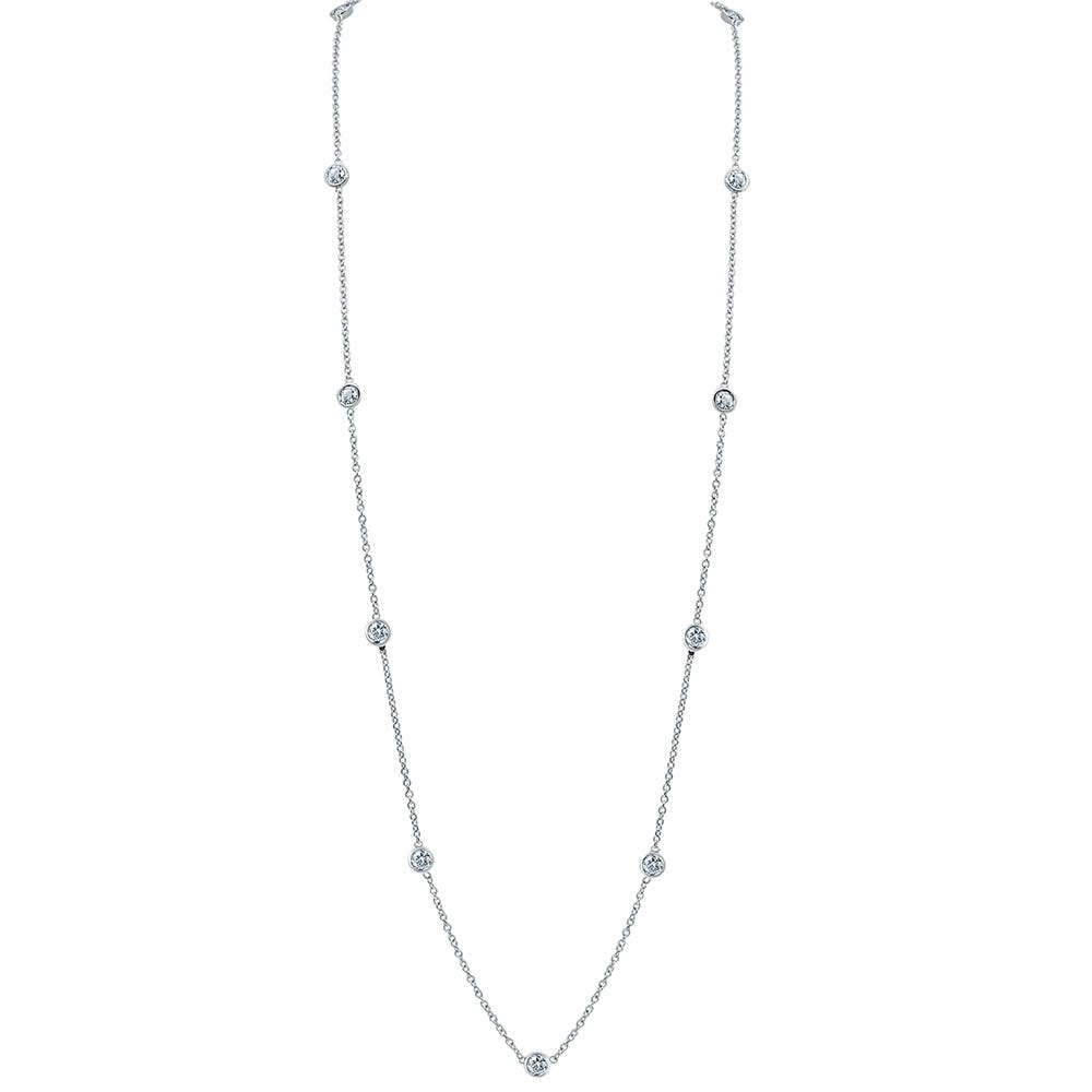 Diamond By The Yard 1ctw Necklace 18