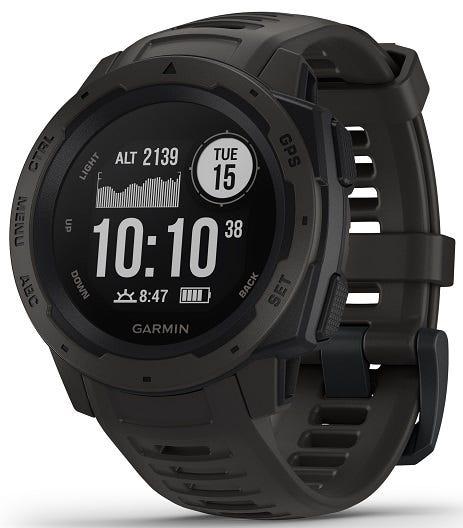 Garmin Instinct™ Graphite GPS Watch 010-02064-00