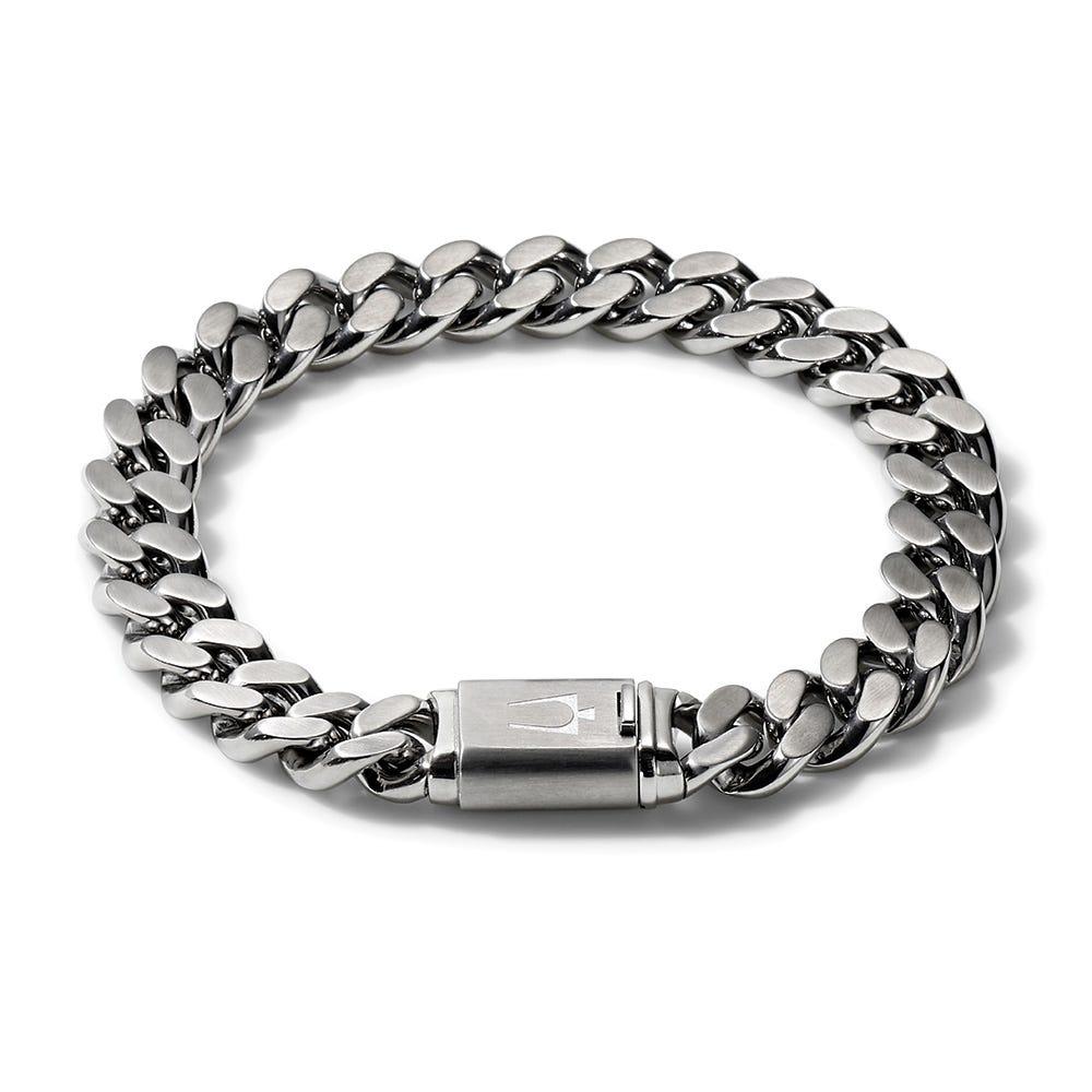 Bulova Men's Contemporary Classic Bracelet in Stainless Steel