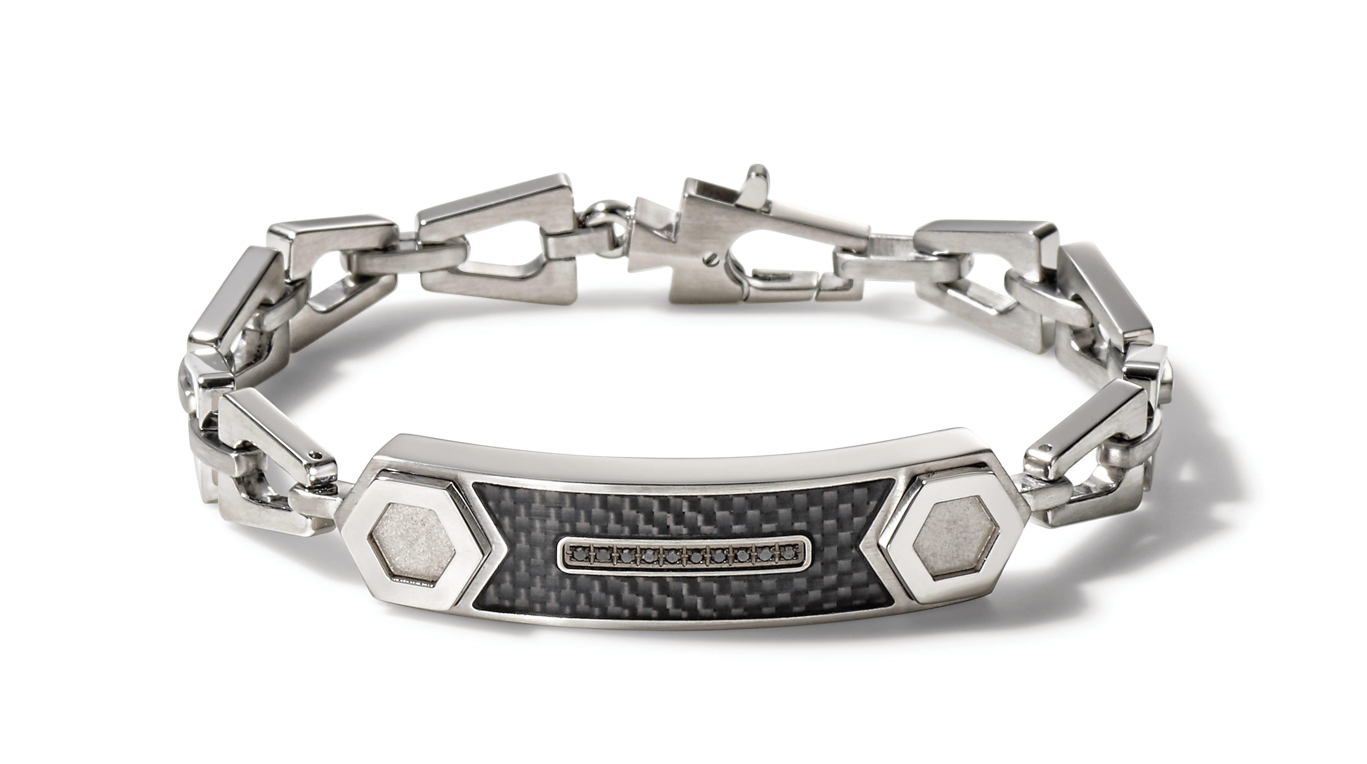 Bulova Precisionist Bracelet in Stainless Steel J96B001L