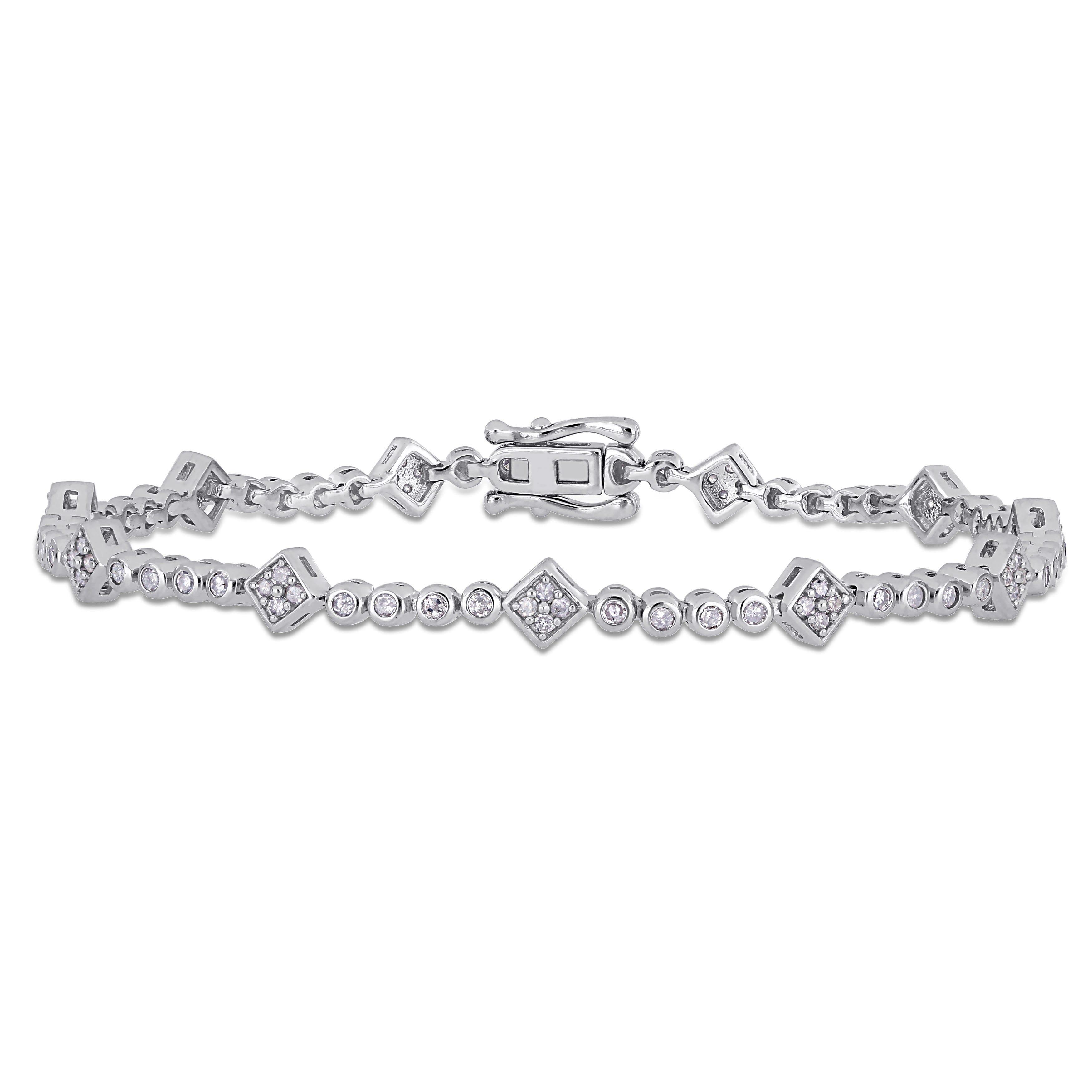 Tennis Bracelet 1ctw in Sterling Silver