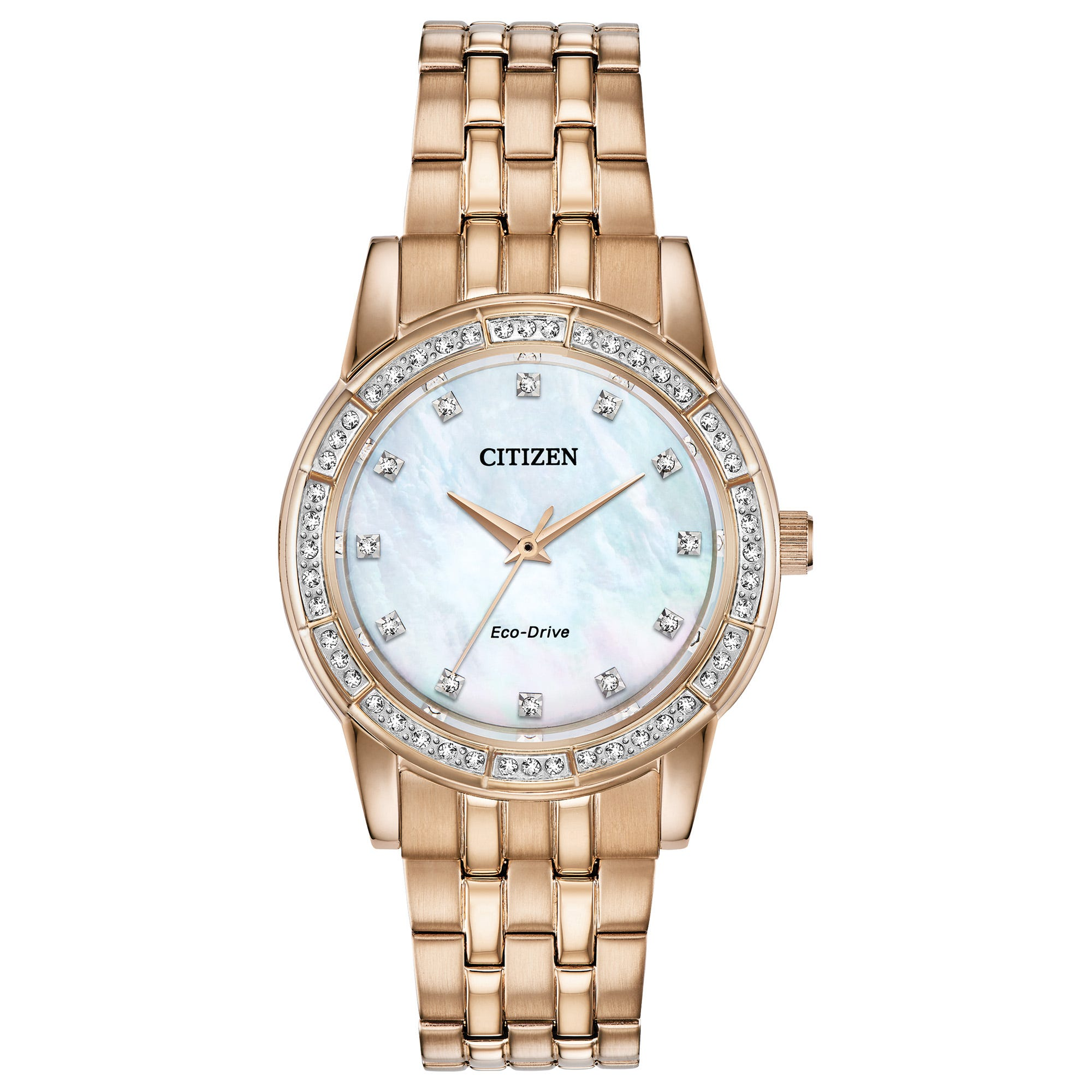 Citizen Ladies' Silhouette Crystal Watch EM0773-54D