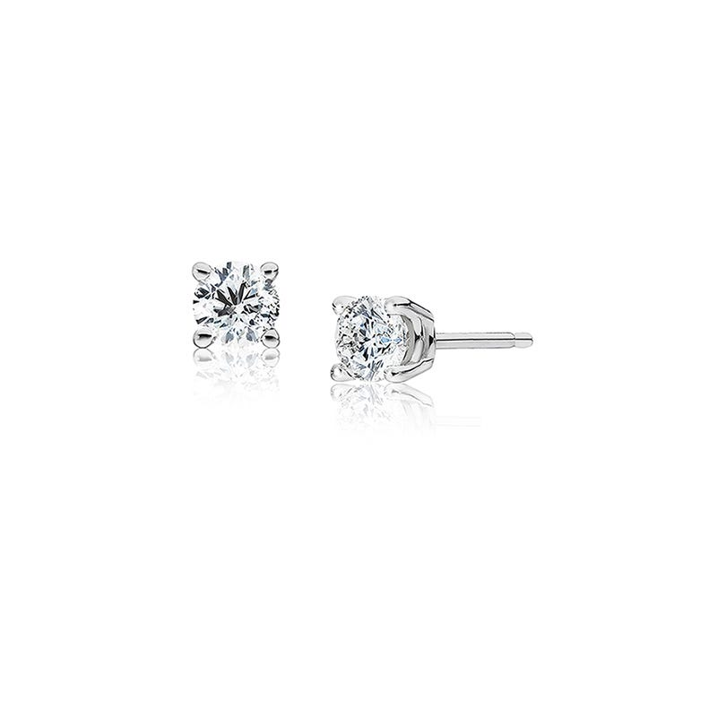 Round Diamond ¼ctw. Solitaire Stud Earrings