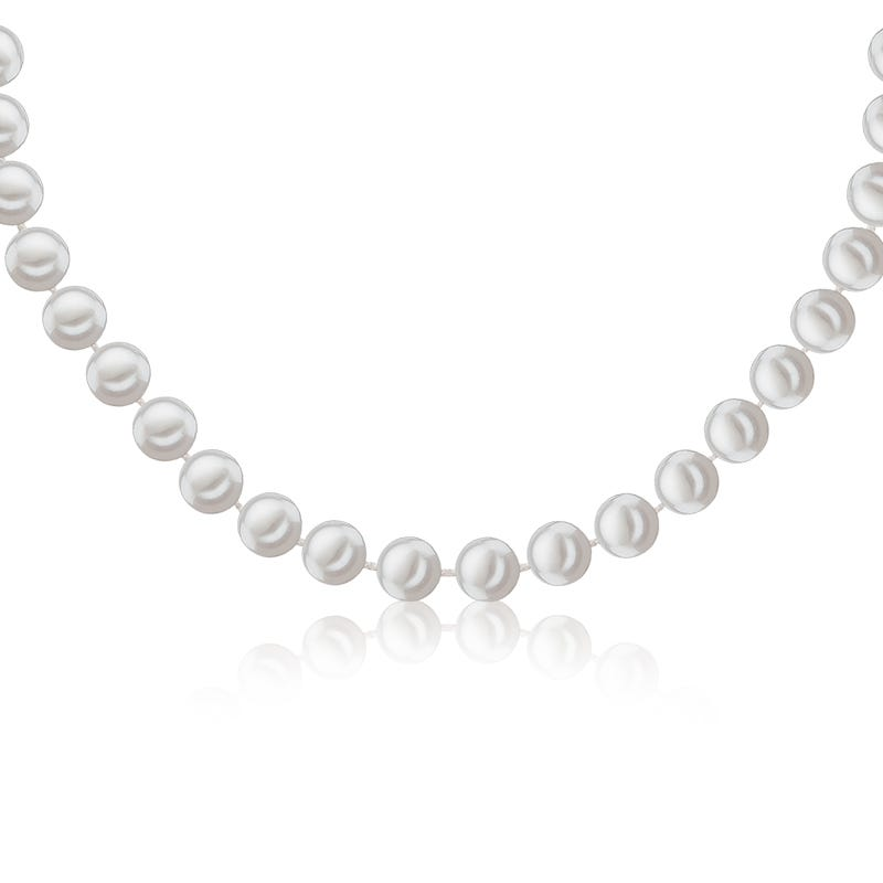Imperial Pearl Freshwater 6.5-7mm Pearl Strand with 14k White Gold Clasp