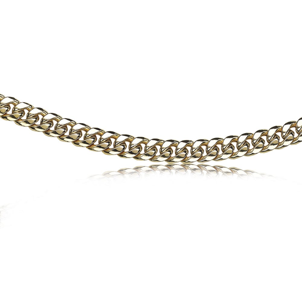 Men's Miami Cuban 7.5mm Link Chain 24