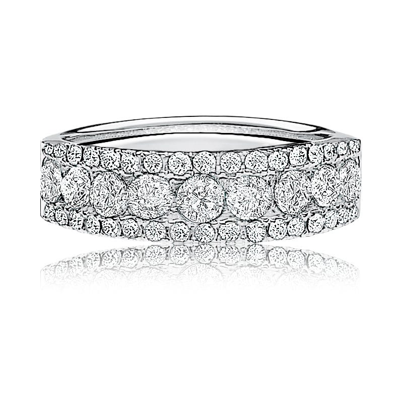 Diamond ½ctw. Anniversary Band in 14k White Gold