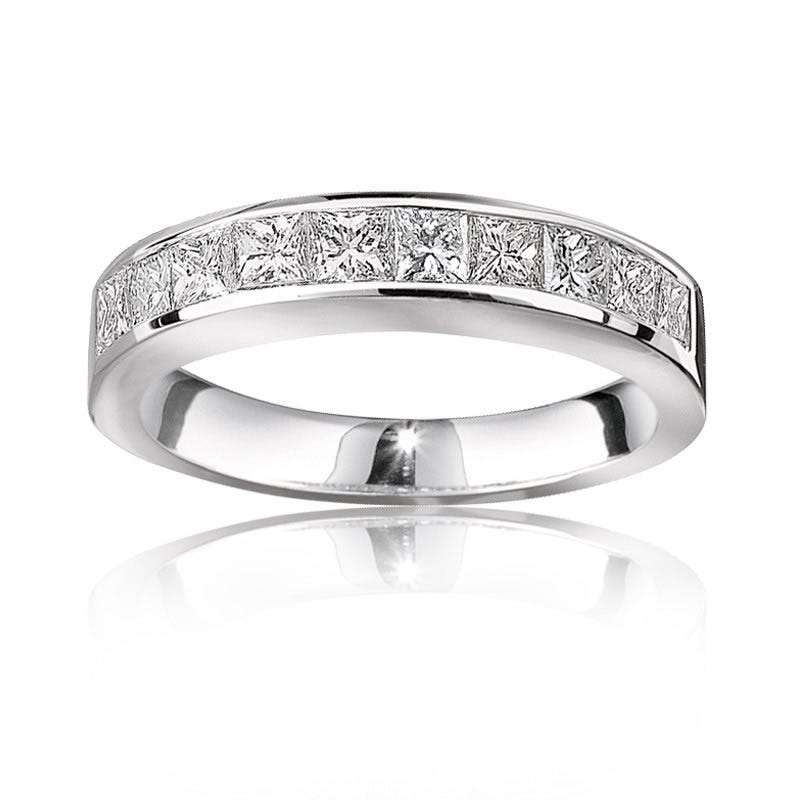 Princess-Cut Diamond Anniversary Band ¼ ct.T.W.