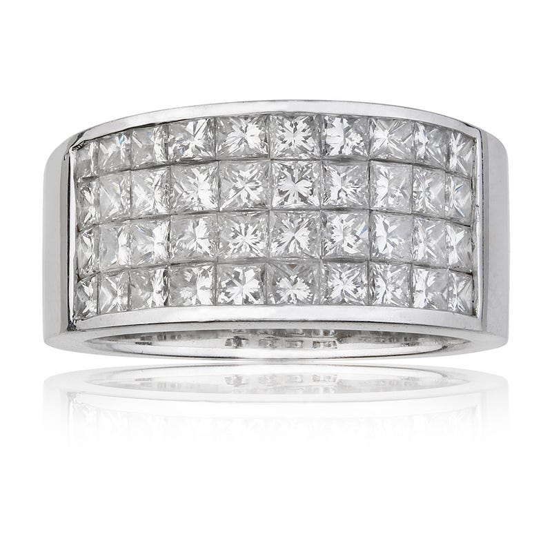 Ladies 2ct. t.w. Diamond Band in 14K White Gold