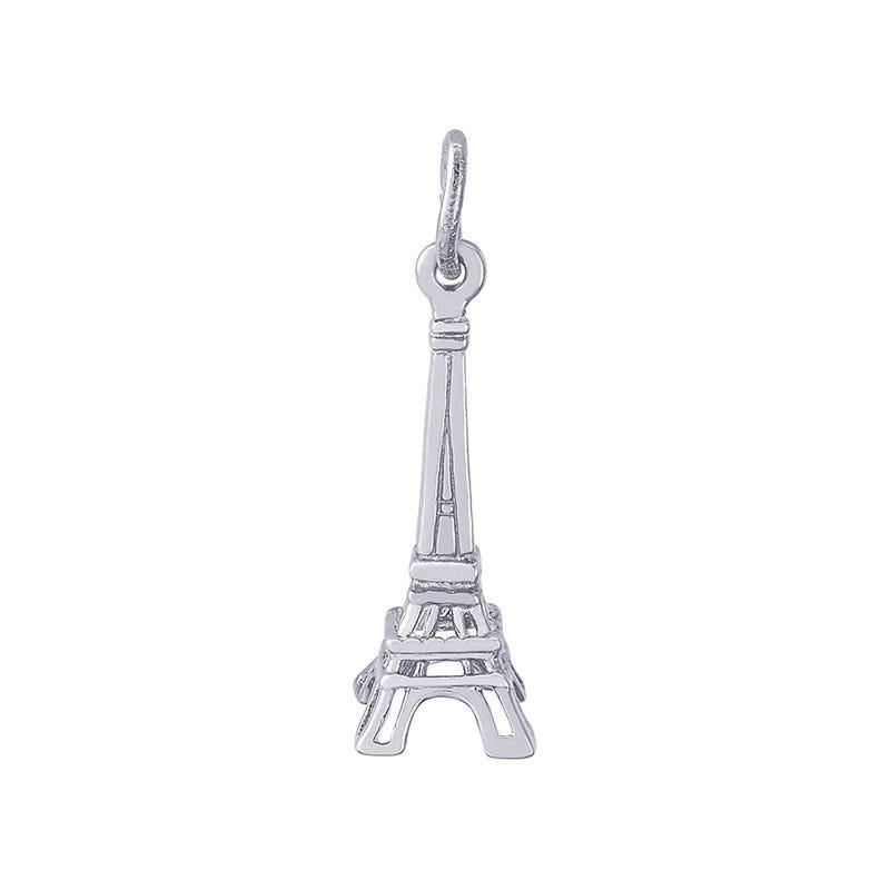 Eiffel Tower Sterling Silver Charm
