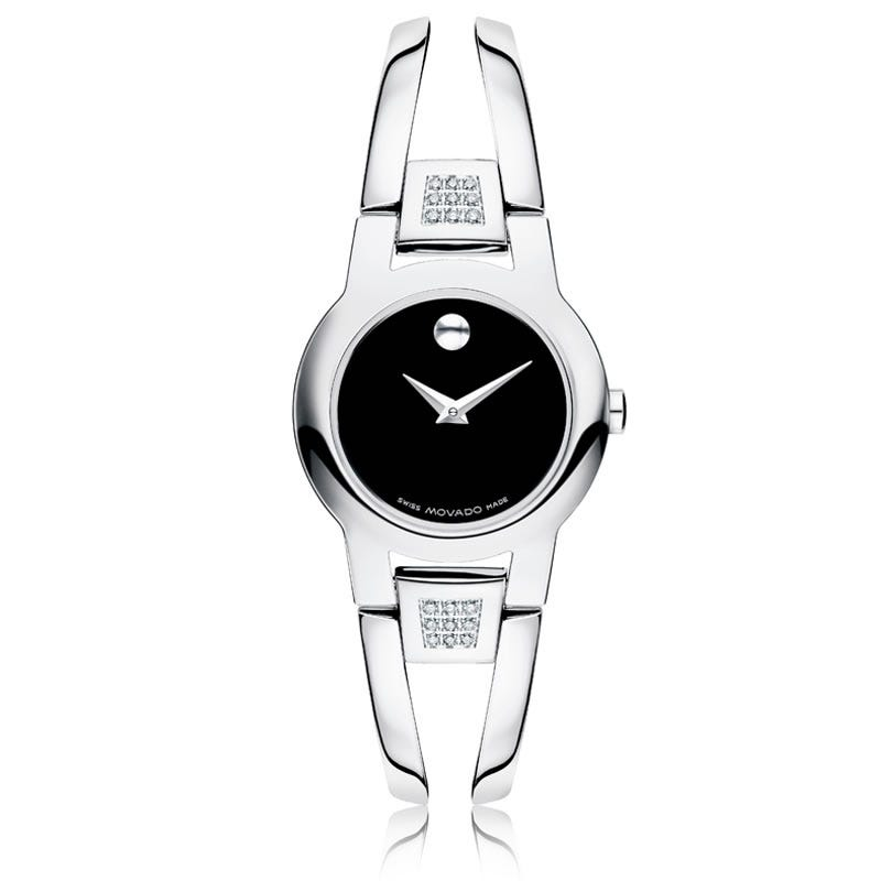Movado Amorosa® Diamond Bezel Watch 604982