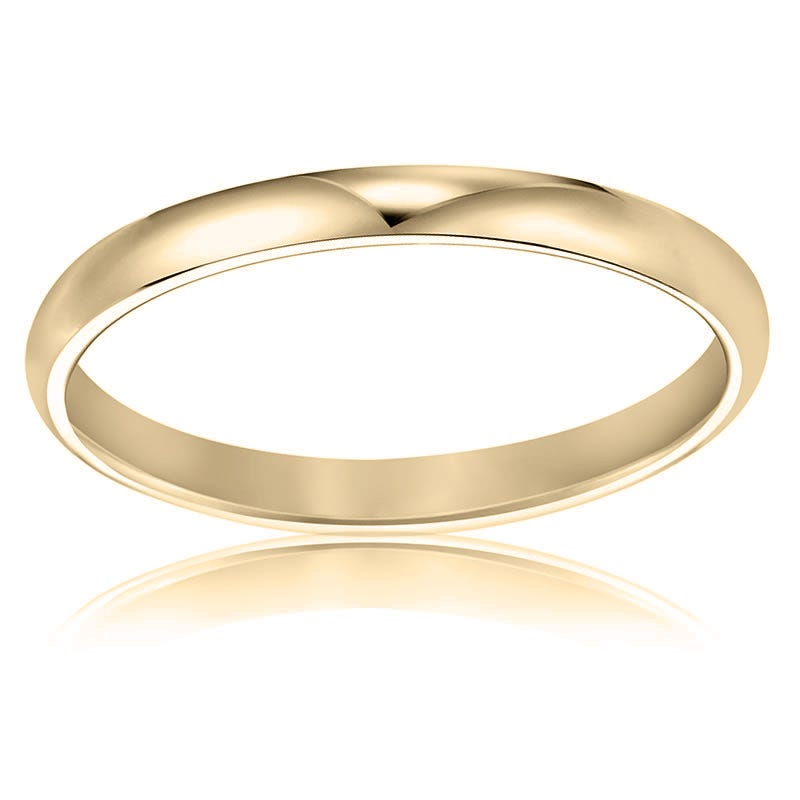 Ladies' Classic Wedding Band in 14k Yellow Gold