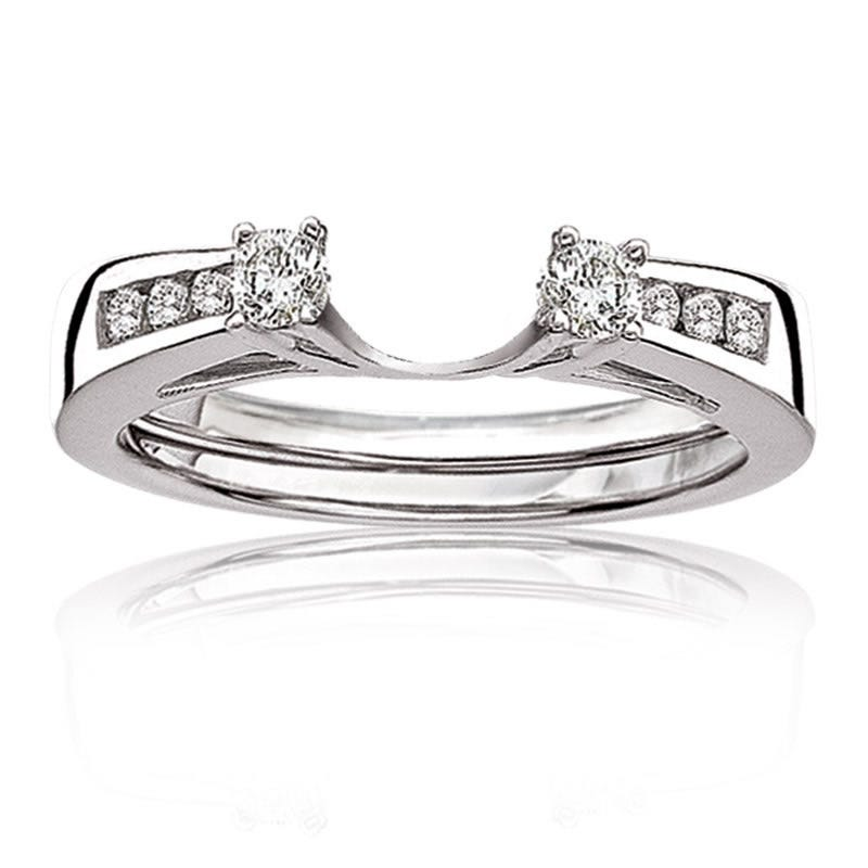 Diamond Ring Wrap ¼ct. tw. in 14k White Gold