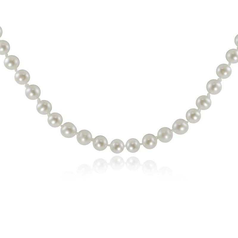 Freshwater Pearl Strand Necklace 18