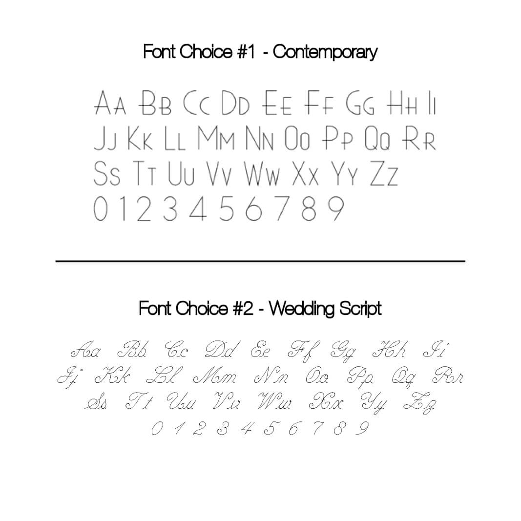 Engraving Fee, Up To 10 Characters