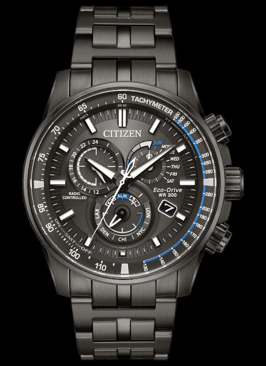Citizen Men's PCAT Gray Bracelet Watch AT4127-52H