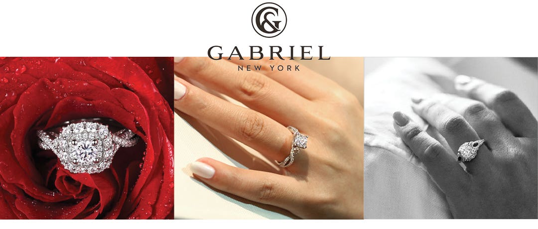 GABRIEL NY ENGAGEMENT RINGS