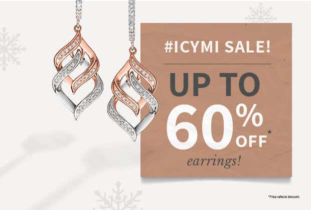 SALE: Earrings Up To 60% Off!