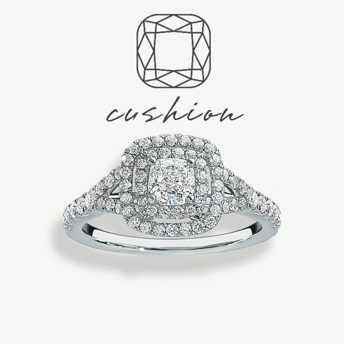 Cushion-Cut Diamond Style