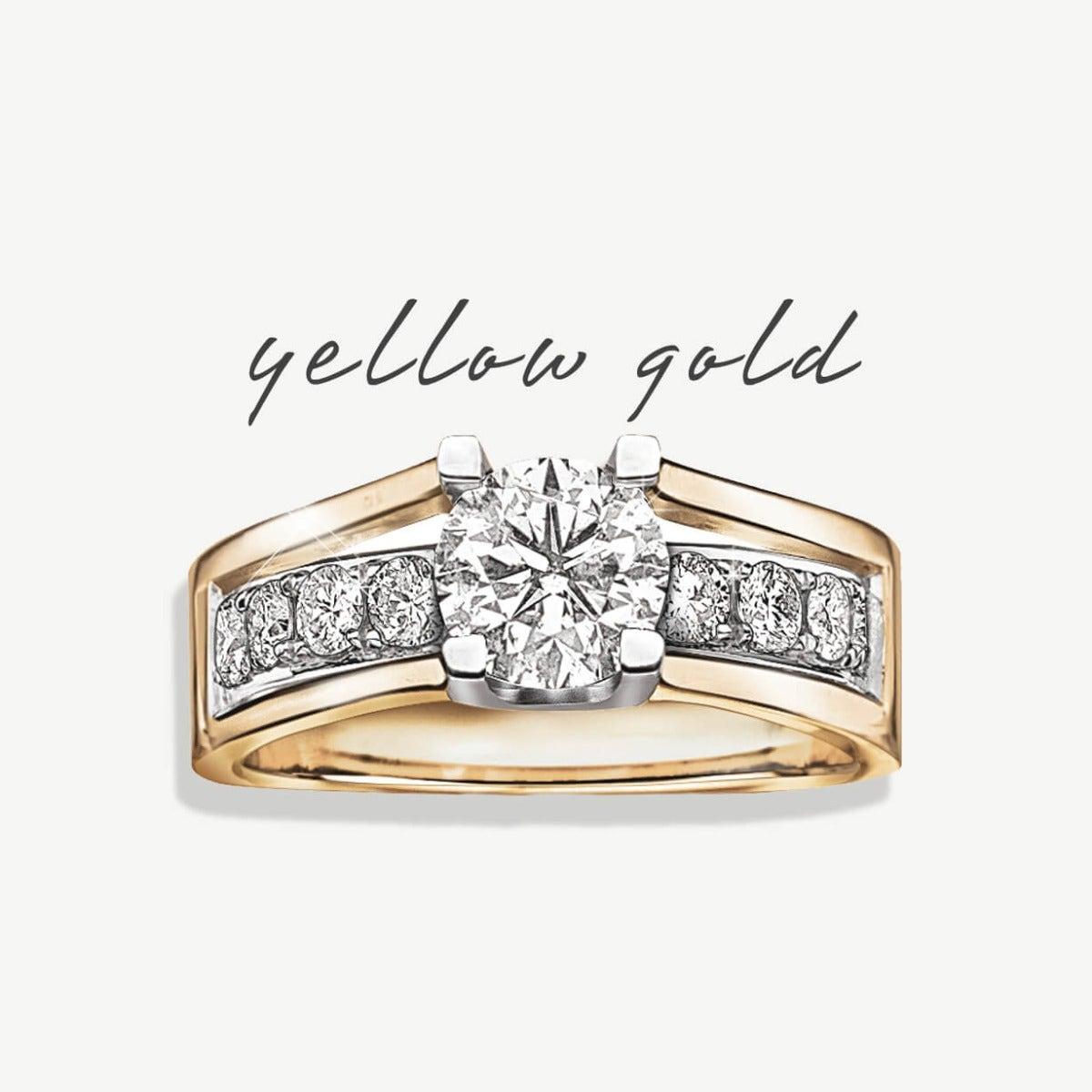 Yellow Gold Metal Designs