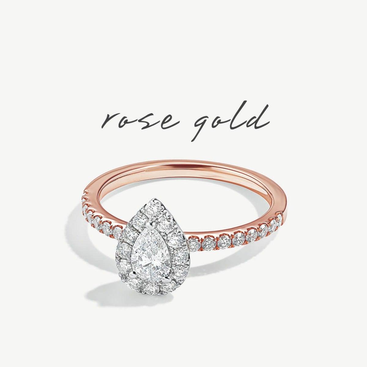 Rose Gold Metal Rings