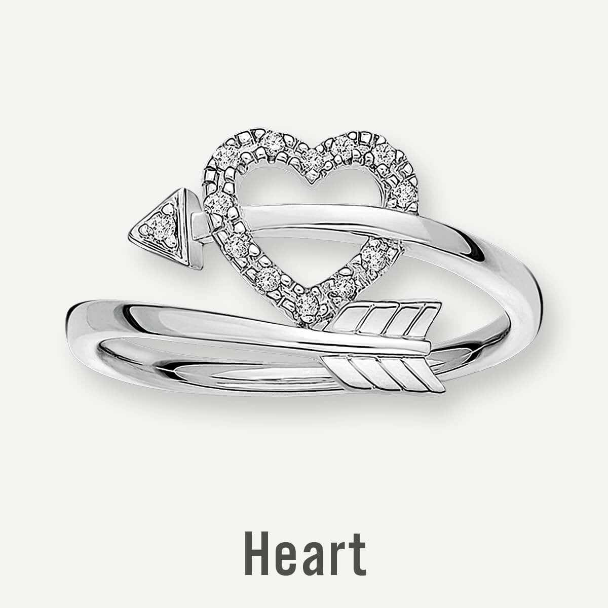Heart Promise Rings