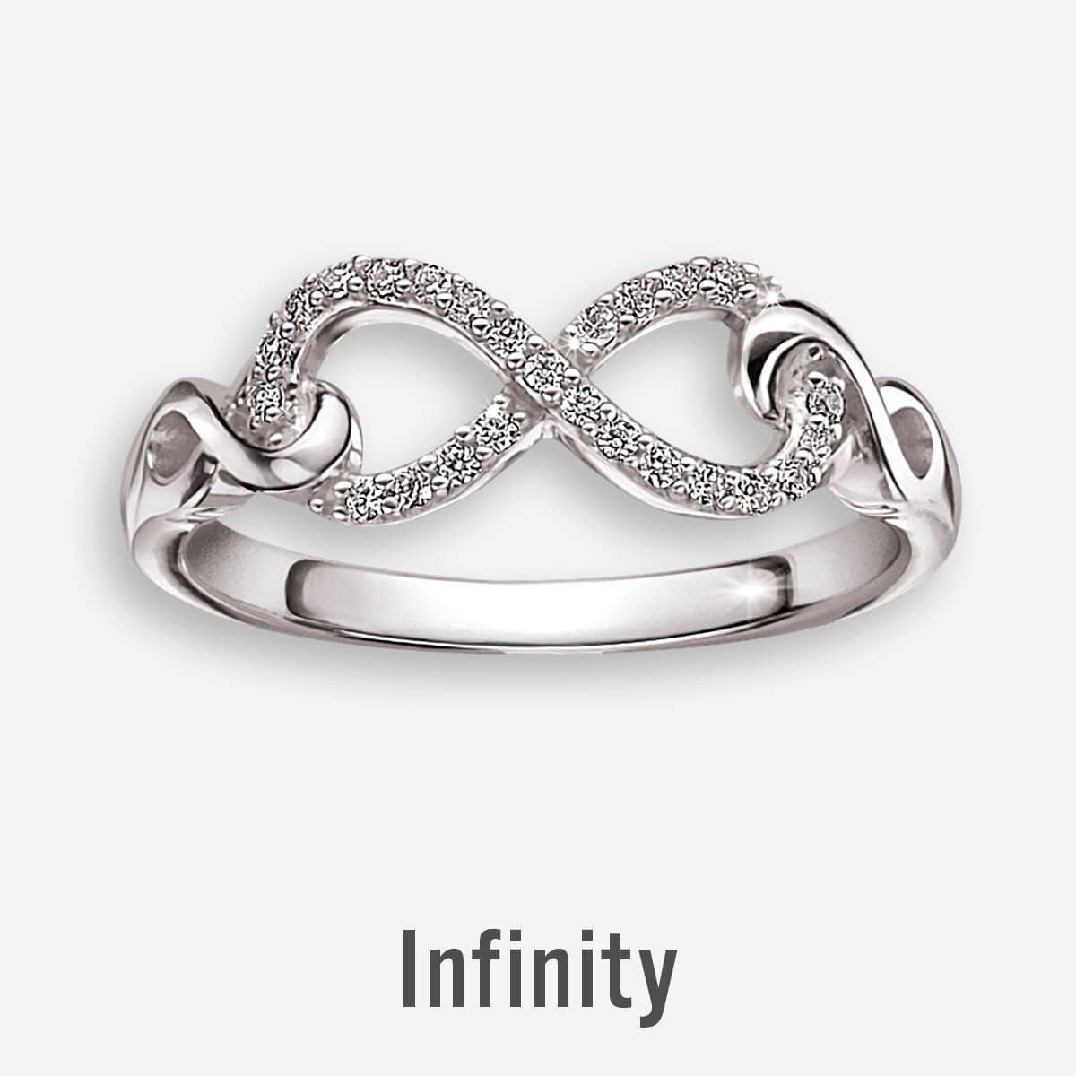 Infinity Promise Rings